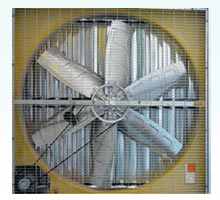 Galvanized fan