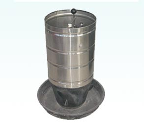Stainless steel cylinder trough for 30kg
